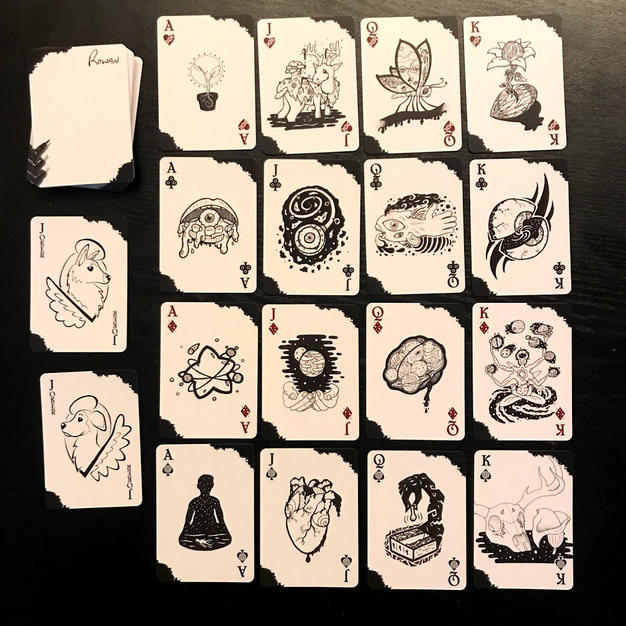 Inkwork Playing Card Deck