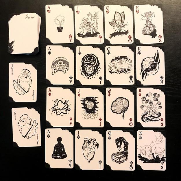 Inkwork Playing Card Deck