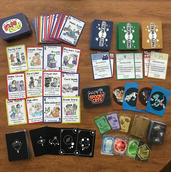Multi-Game Card Spread