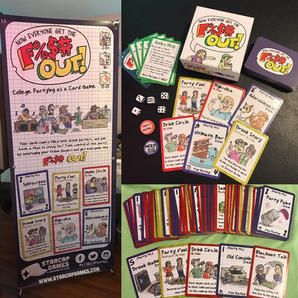 F%$# Out! Cards and Banner