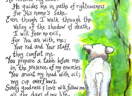 Sunday May 3rd - Children's Activity - The Good Shepherd