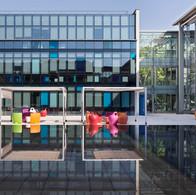 Photographe d'entreprise et de locaux commerciaux photo architecture extérieure CEGID Lyon Vaise