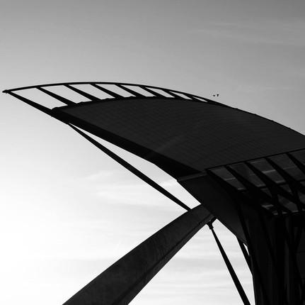 Photographie architecture minimaliste professionnel, Florian Peallat, aéropot de St Exupéry à Lyon