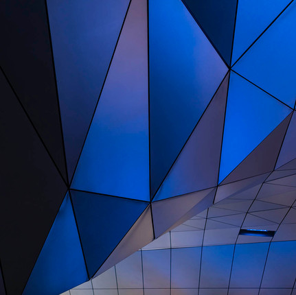 Photographe architecture à Lyon et en France, Florian Peallat, photo minimaliste du musée des Confluences.
