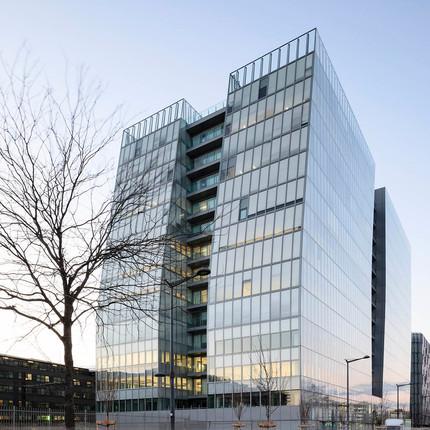 Photographe professionnel architecture à Lyon, Florian Peallat, quartier d'affaire de la Part Dieu