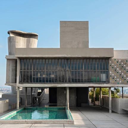 Photographe architecture Marseille, Florian Peallat, réalisation de l'architecte Le Corbusier.