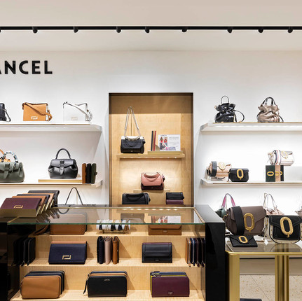Photographie de la boutique Lancel dans le magasin Le Printemps Lyon