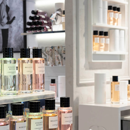 Parfums Christian Dio boutique Printemps Lyon