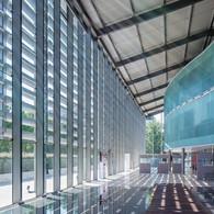 Phtographe architecture interieur entreprise CEGID à Lyon