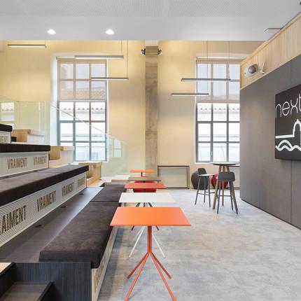 Salle de réuinion de l'espace de coworking Nextdoor.