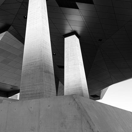 Photographe architecture sur Lyon, Florian peallat photographe professionnel, musée des Confluences à Lyon.