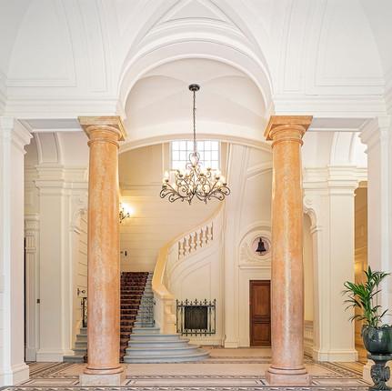 Photographe hôtel à Lyon, magnifique halle du domaine des Halles.