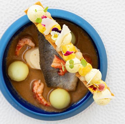 Photographe hôtel et restaurant à Annecy, photographie culinaire réalisée par Florian Peallat photographe.