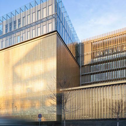 Photographe architecture Lyon, nouvelles archives de Lyon.
