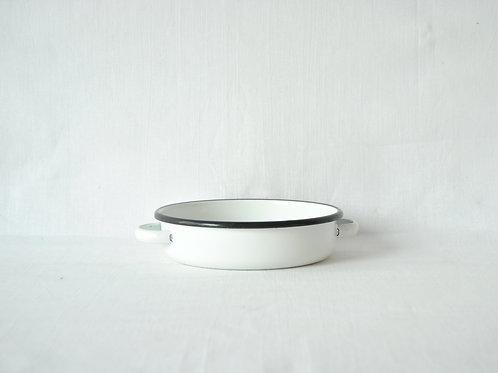 Cazuela blanca 17cm