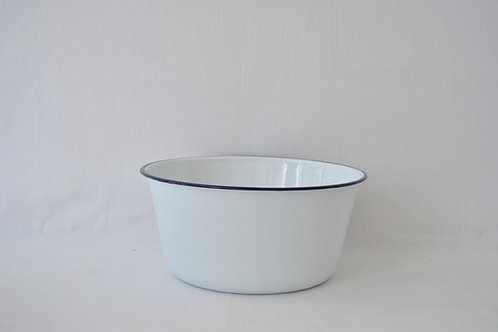 Bowl  recto XL borde azul