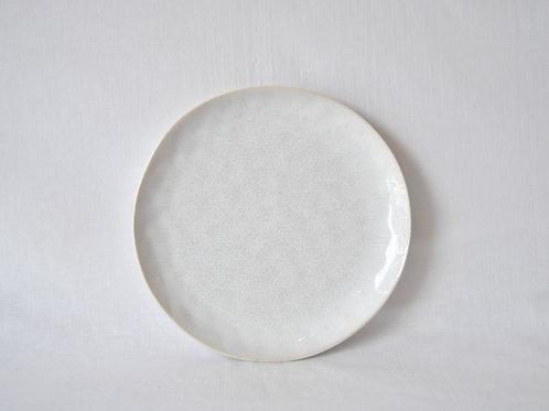 Plato de cerámica blanco Chiloé