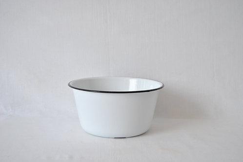 Bowl recto Grande borde negro