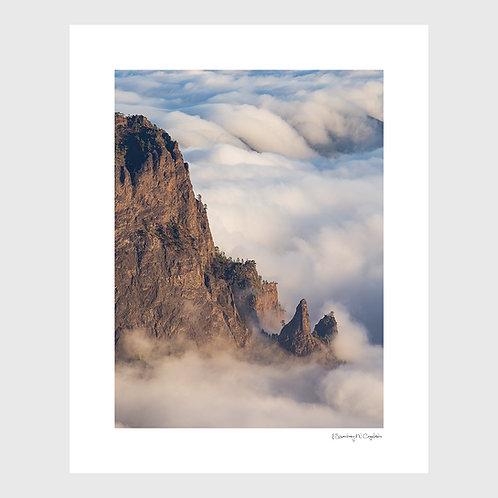 Tirage Fine Art 40x50 cm - Mer de Nuage