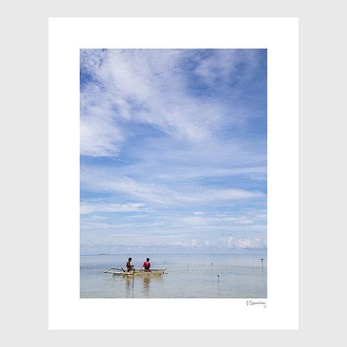 Tirage Fine Art 40x50 cm - Pêche