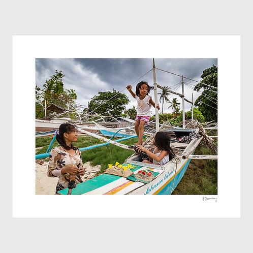 Tirage Fine Art 40x50 cm - Filles Philippines