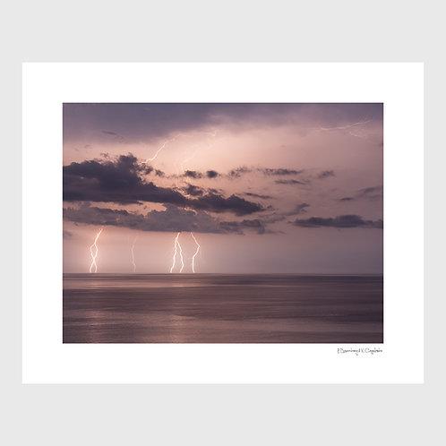 Tirage Fine Art 40x50 cm - Orage