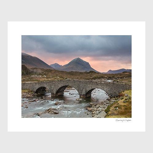 Tirage Fine Art 40x50 cm - Pont Ecosse