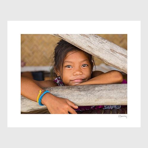 Tirage Fine Art 40x50 cm - Portrait Jeune Fille