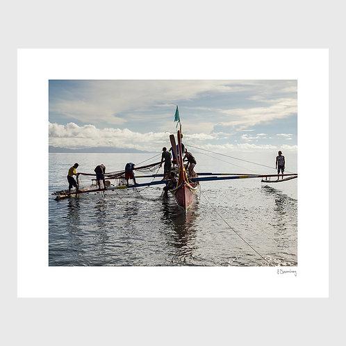Tirage Fine Art 40x50 cm - Bateau de Pêche