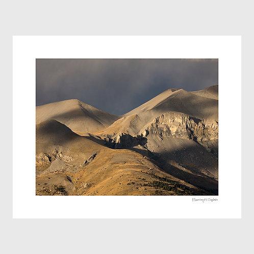 Tirage Fine Art 40x50 cm - Pentes du Mounier