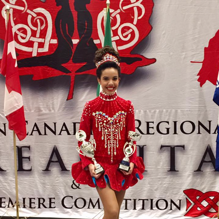 Shannon- Treble Reel Champion & 15th Place at the Eastern Canadian Championships
