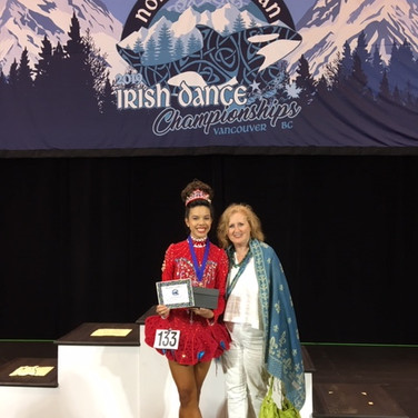 Shannon Lyne at the North American Championships