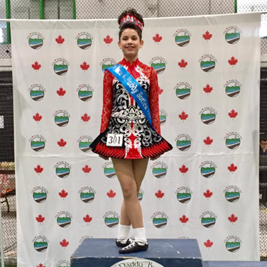 Kaitlin Lyne- 4th Place at the Mae&Paddy Butler Feis