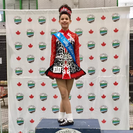 Kaitlin- 4th Place at the Mae&Paddy Butler Feis