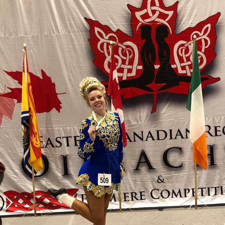 Erin- 9th Place at the Eastern Canadian Championships