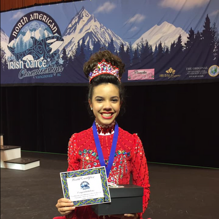 Shannon- 23rd at the North American Championships and World Qualifier