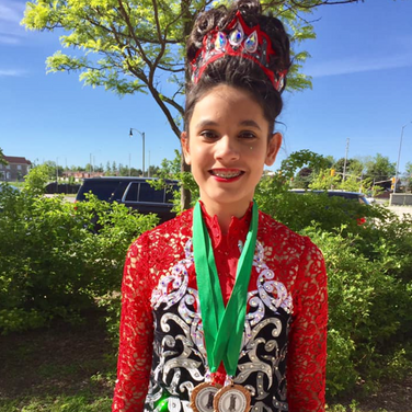 Kaitlin Lyne- 6th Place at the WBD Feis 2019