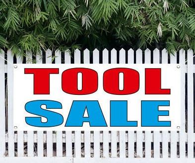 Tool Sale at Riderwood