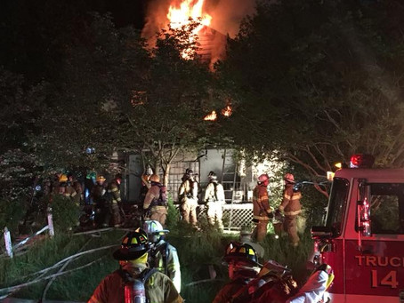 House Fire on Howard Court Claims One