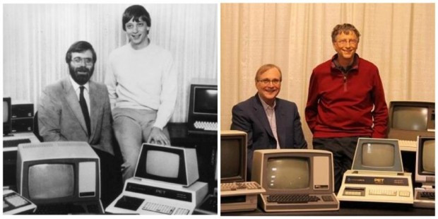 Paul Allen and Bill Gates