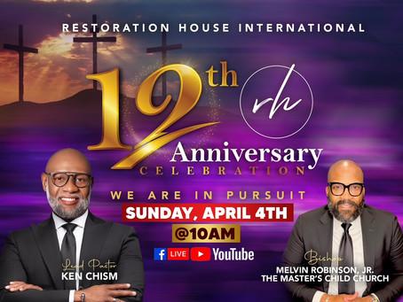 Restoration House International of Beltsville, Maryland Celebrates Its 12th Anniversary!