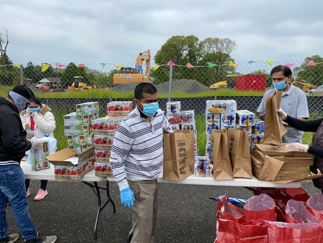 JSMW Covid-19 Food Drive: Neighbor Helping Neighbors