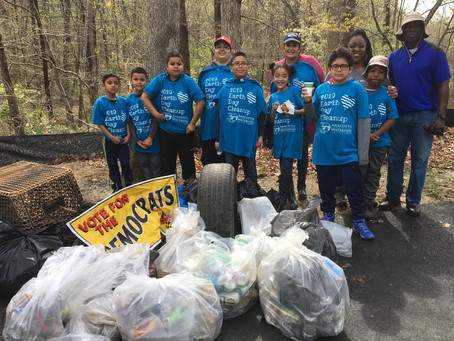Anacostia Watershed Society Earth Day Cleanup on April 24, 2021 By Regina Halper