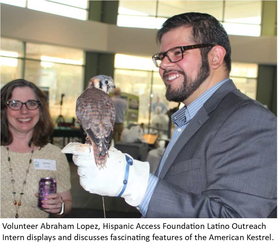 15 Abraham Lopez with bird