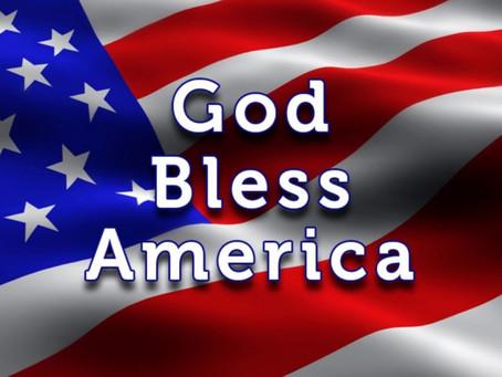 God Bless America by Rev. Dr. Jalene Chase