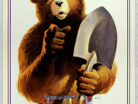USDA National Agricultural Library celebrates Smokey the Bear's 75th Birthday!