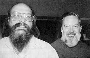 Dennis Ritchie and Kenneth Thompson