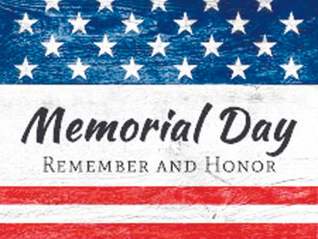 Memorial Day– A Day of Remembrance for Our Military Heroes By Ivy Christoffers