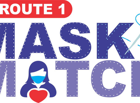 Route 1 Mask Match Connects Crafters With Those Who Need Masks (online exclusive)