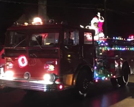 Beltsville Volunteer Fire Department Santa Tour 2020